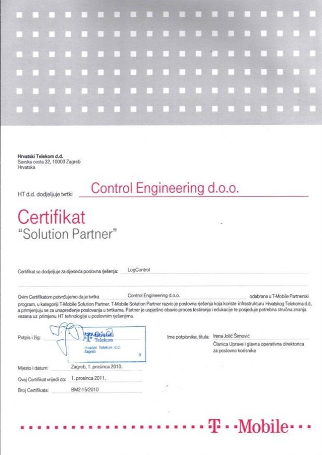 T  mobile   certifikat